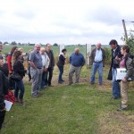 Biodiversity in orchards – one topic of the EISA Farm Visit on the Peeters Farm in Huldenberg